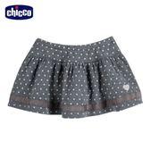 chicco-可愛動物系列-點點短裙-灰