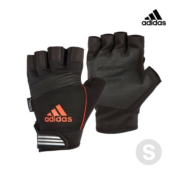 Adidas Training- 防滑短指手套(活力橙)-S