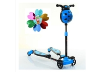 兒童滑板車兒童剪刀車寶寶小孩子蛙式四輪音樂閃光滑滑車LX聖誕交換禮物