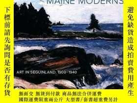 二手書博民逛書店Maine罕見Moderns: Art in Seguinlan