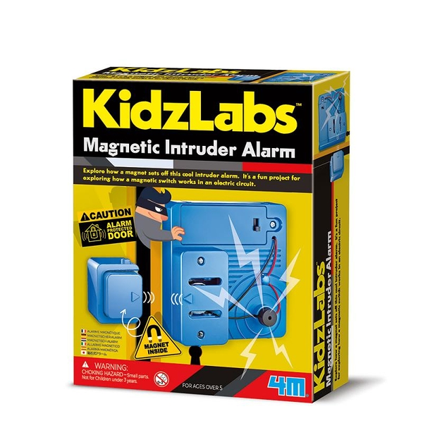 《4M科學探索》 Magnetic Intruder Alarm 磁力警報器 / JOYBUS玩具百貨