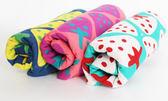 里和Riho LOVEL日雜塗鴉可愛草莓紗布童巾 26x50cm 3色可選 哺乳巾 紗布巾 毛巾