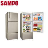 【SAMPO聲寶】530公升變頻三門冰箱SR-B53DV(Y6)