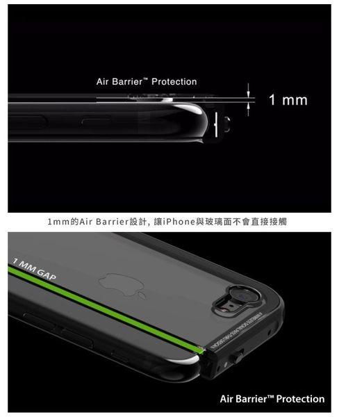 SwitchEasy Glass iPhone 7 4.7吋 金屬 邊框 玻璃 背蓋 保護殼 墨黑