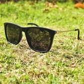 【南紡購物中心】2is DanD 太陽眼鏡│百搭方框│黑色│抗UV400