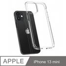 【愛瘋潮】手機殼 防撞殼 Spigen iPhone 13 mini (5.4吋) Crystal Hybrid 軍規防摔保護殼