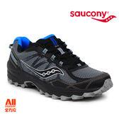 【Saucony】男款慢跑鞋 GRID EXCURSION TR11 戶外越野 -黑混藍(203929)全方位跑步概念館