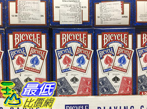 [COSCO代購] C1274475 BICYCLE PLAYING CARD 808標準尺寸專業撲克牌12入
