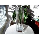 法國CRISTAL D'ARQUES Beaubourg高級水晶玻璃花器 花瓶 花插 水晶含量24% 24公分