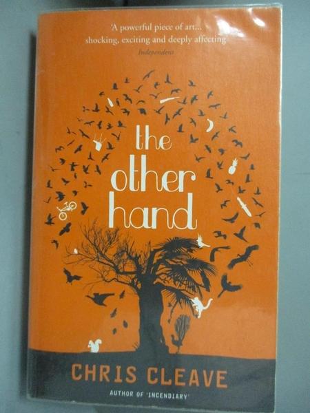 【書寶二手書T7/原文小說_GI6】The Other Hand_Chris Cleave
