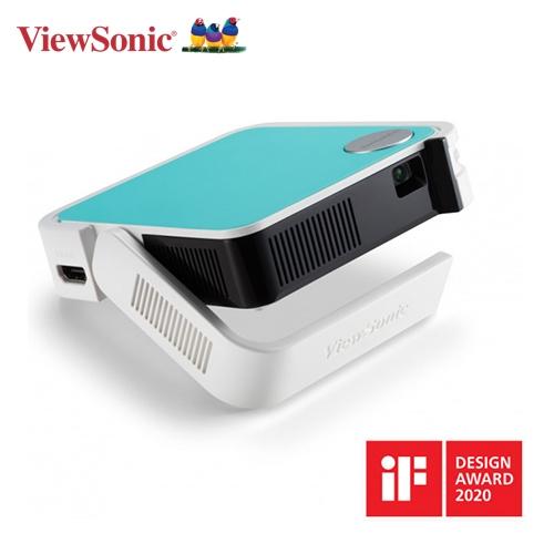 【ViewSonic 優派】M1 mini Plus 無線智慧LED口袋投影機