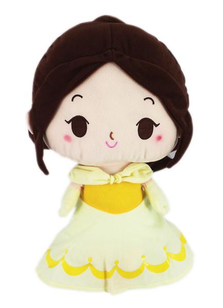 【卡漫城】 貝兒 Q版 玩偶 38cm ㊣版 布偶 擺飾 絨毛 娃娃 公主 美女與野獸 Belle and Beast
