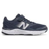 New Balance 680 童鞋 中童 慢跑 休閒 緩衝 支撐 W楦 藍【運動世界】YA680IW6