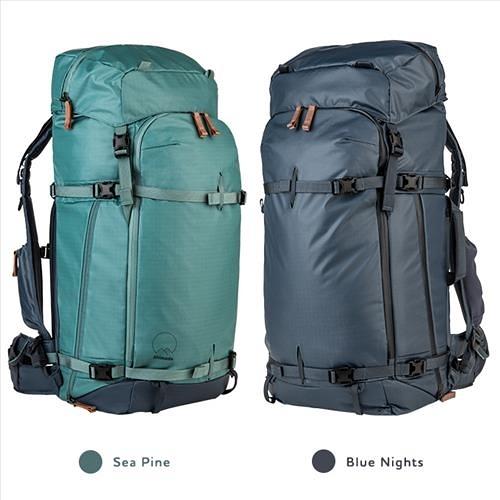 【】Shimoda Explore 60 Starter Kit 探索60專業背包套組 可另購雨套 520-013深藍 / 520-014海藍