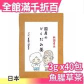 日本 純國手作茶飲 魚腥草茶 茶包 3gx40包 樂天銷售第一名【小福部屋】