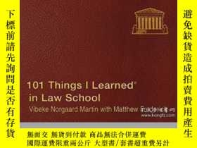 二手書博民逛書店101罕見Things I Learned In Law School-我在法學院學到的101件事Y43663