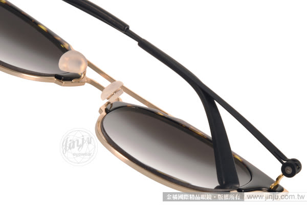 VYCOZ 太陽眼鏡 MOCA GOL-BLACK (琥珀-金) 2016新款 時尚熱銷貓眼款  # 金橘眼鏡