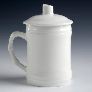 德化白瓷/竹節杯