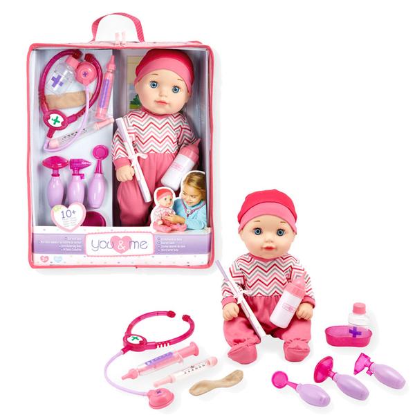 YOU & ME 寶寶照護康復玩具組