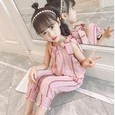 女童夏裝套裝新款潮童裝兒童夏季時髦衣服女孩洋氣韓版兩件套  9號潮人館