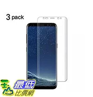 Galaxy S8 Plus Screen Protector[Not Glass] TANTEK Samsung Galaxy S8 Plus 3-Pack B072FKVZZZ