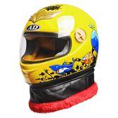 機車安全帽AD兒童頭盔電動車摩托車全盔