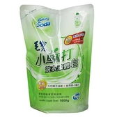 毛寶小蘇打洗衣液體皂補充包1 8L 【愛買】