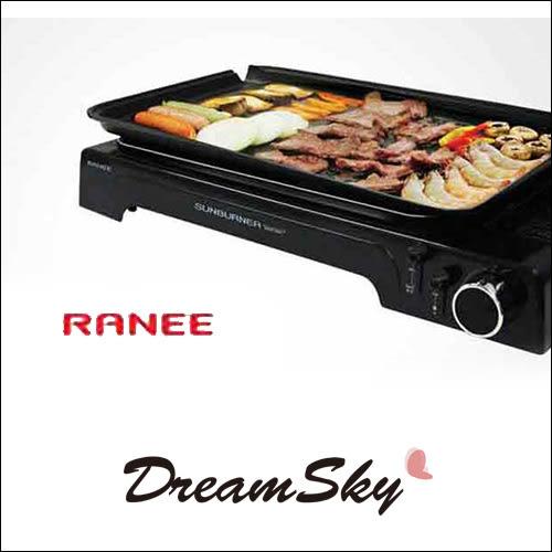韓國 RANEE 鐵板燒 卡式爐 卡式瓦斯 鑽石層 烤肉盤 不沾 烤盤 兩用 中秋燒肉 烤爐 Dreamsky