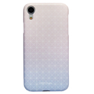 SaraGarden 客製化 iPhoneXR/XS/X/XsMax手機殼 【多款手機型號提供】漸層藍粉幾何