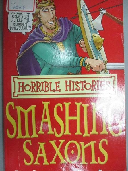 【書寶二手書T6/語言學習_GTF】Horrible Histories-Smashing Saxons_Terry D