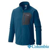 Columbia 男 鈦PL200刷毛外套-藍色 【GO WILD】