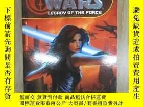 二手書博民逛書店外文書罕見STAR WARS LEGACY OF THE FORCE SACRIFICE(共498頁,32開)