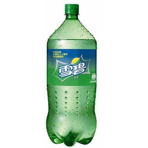 雪碧汽水寶特瓶2000ml【愛買】