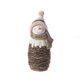 聖誕樹枝雪人擺飾 22cm