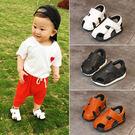 聖誕節交換禮物-夏新款嬰兒學步鞋兒童涼鞋男寶寶1-3歲防滑軟底小童包頭沙灘鞋女