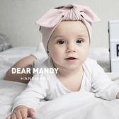 蝴蝶結髮飾嬰兒發帶韓國寬蝴蝶結公主兒童女寶寶0-12個月新生兒滿月 嬡孕哺