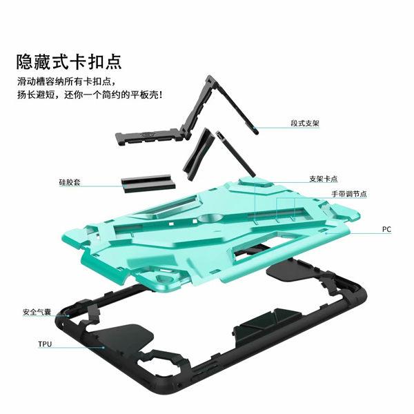 IPad Mini 變形防摔殼 Mini5 Mini4 Mini3 平板殼 平板套 平板保護殼 防摔 支架 手托 防滑
