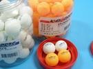 鐵人牌二星級桌球.鐵人牌乒乓球(黃色.白色) /一筒48個入(#10)