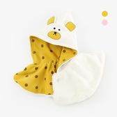 立體動物寶寶毛絨斗篷披肩 童裝 寶寶披風 嬰兒服