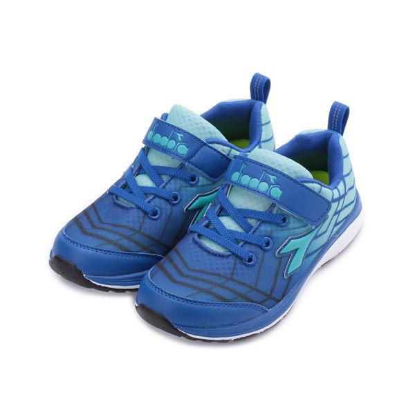 DIADORA 4E 動感網格慢跑鞋 藍 DA5796 中大童鞋 鞋全家福