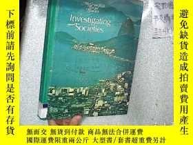 二手書博民逛書店INVESTIGATING罕見SOCIETIES 調查社會 大1
