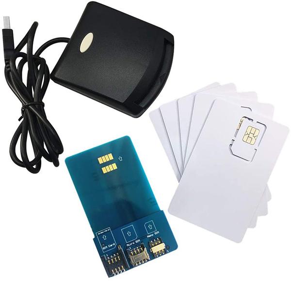 [2美國直購] 安全讀卡器寫入器編程器 LTE WCDMA ICCID SIM USIM 4G Secure Card Reader