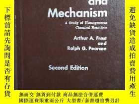 二手書博民逛書店Kinetics罕見and Mechanism(動力學與機制)Y