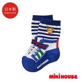MIKI HOUSE 日本製可愛普奇熊中筒襪