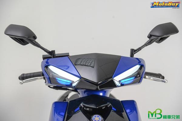 機車兄弟【LEVEL 10 四代勁戰 全LED前方向燈組 燻黑殼】