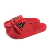 adidas ADILETTE SHOWER 拖鞋 防水 紅色 男鞋 EE7039 no771