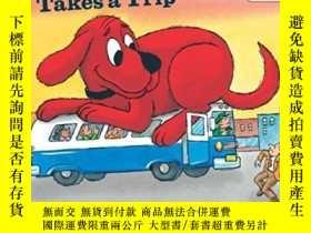 二手書博民逛書店大紅狗克利弗德系列罕見Clifford Takes a Trip