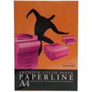 【奇奇文具】PAPER LINE 240 進口A4 桔紅 80P 影印紙 PL240-80P/包 超取只限定2包