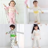 護肚套裝 居家服 空氣棉 動物印花 男童 女童 保暖 Augelute 41308