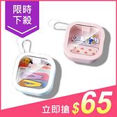 口袋便攜式按壓推推收納盒(1入) 顏色隨機出貨【小三美日】$69